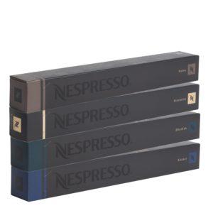 Nespresso OriginalLine: Kazaar, Dharkan, Ristretto, Roma
