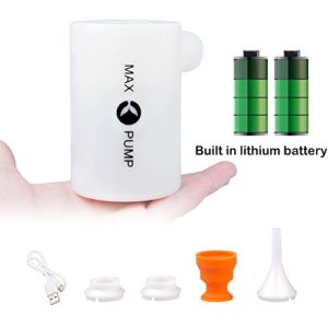 Portable Air Pump with 3600mAh Battery USB Rechargeable Electric Air Pump for Inflatables