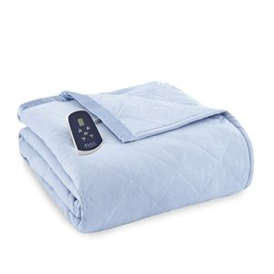 Shavel Home Products Thermee Electric Blanket, King/Cal King, English Blue