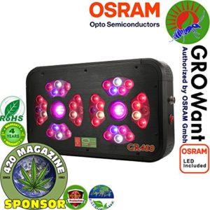 LED Grow Lights for Marijuana   480 watts OSRAM Horticulture LEDs