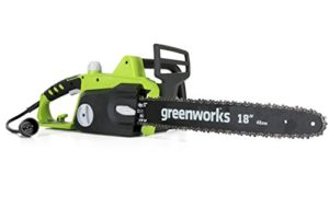 Greenworks 18-Inch 14.5 Amp Corded Chainsaw 20332