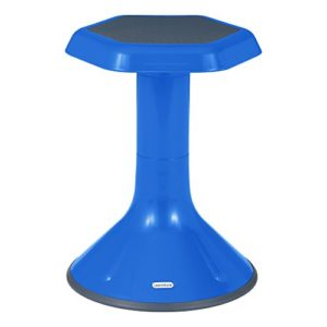 "Learniture Active Learning Stool, 18"" H, Blue, LNT-3046-18BL"