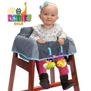 Protective Highchair Cover for Babies, Restaurant High Chair Cover Germ Protection For Babies