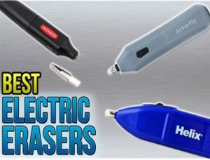 best electric erasers